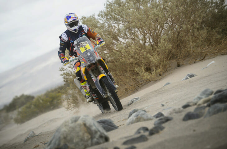 Kevin Henkes Quote Today Was A Difficult Day Tomorrow: Price Still Leads After Dakar Rally Stage 10