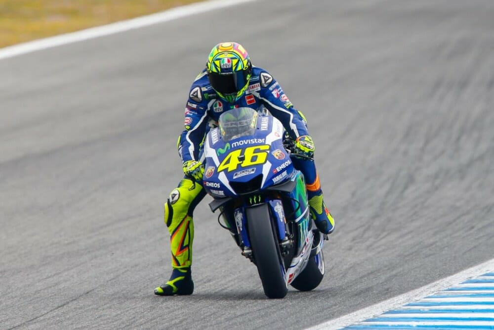 MotoGP: Valentino Rossi Dominates Grand Prix of Spain - Cycle News
