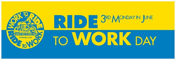 Ride to Work Day 2016