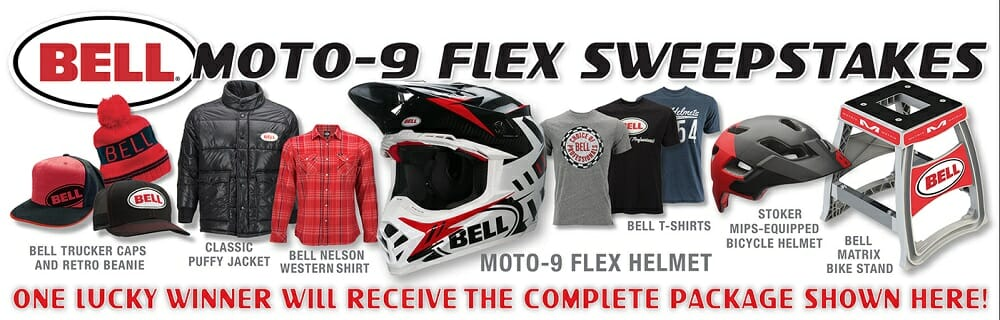 Bell Helmets Announces the Moto-9 Flex Sweepstakes - Cycle News