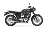 This Triumph motorcycle is an example of a Standard motorcycle