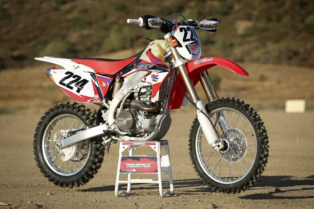 2016 Honda Crf450x Project Bike Feature Cycle News