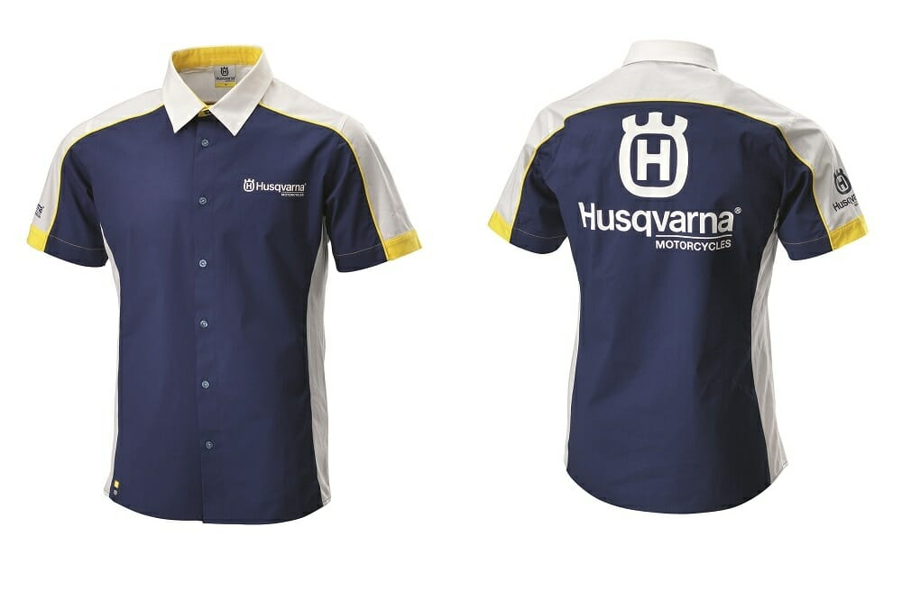 259922bf3 Husqvarna Team Wear Now Available - Cycle News