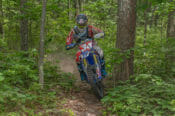 Grant Baylor took the win at the 2016 Rattlesnake National Enduro in Cross Fork, Pennsylvania.