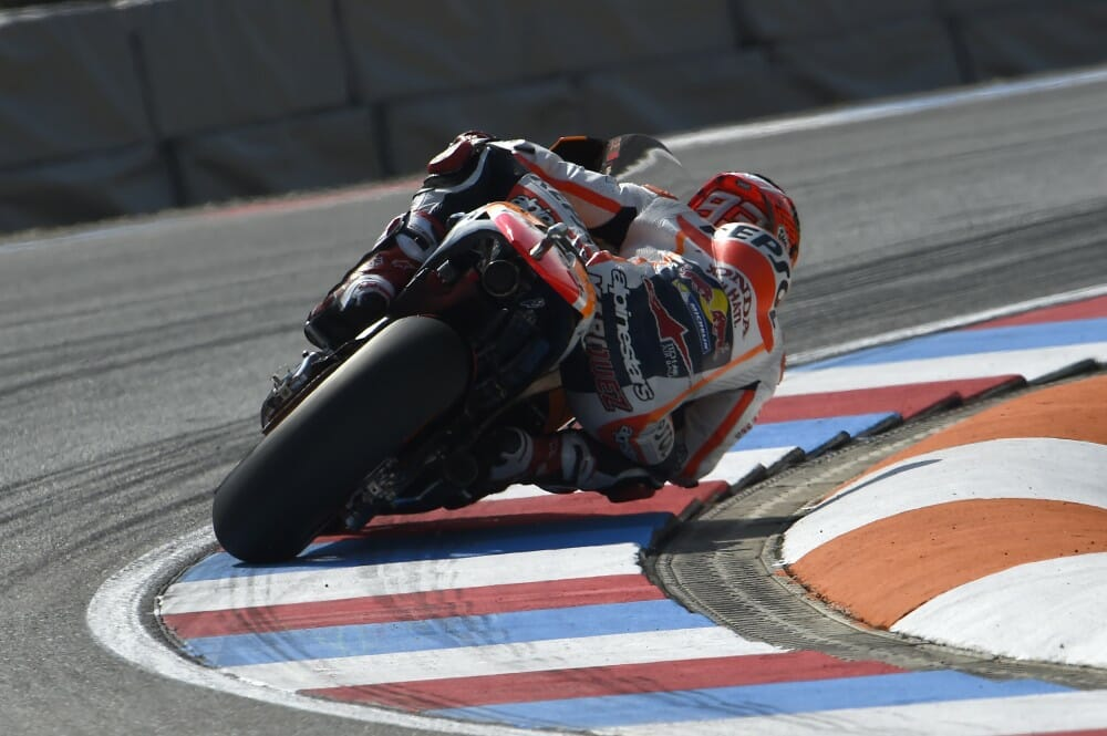 Marc Marquez Wins Pole in Brno and sets new track record