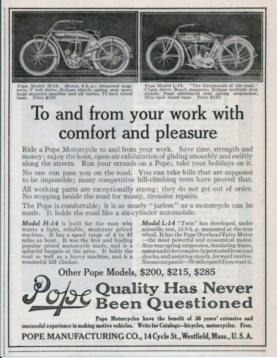 Pope Motorcycles 1