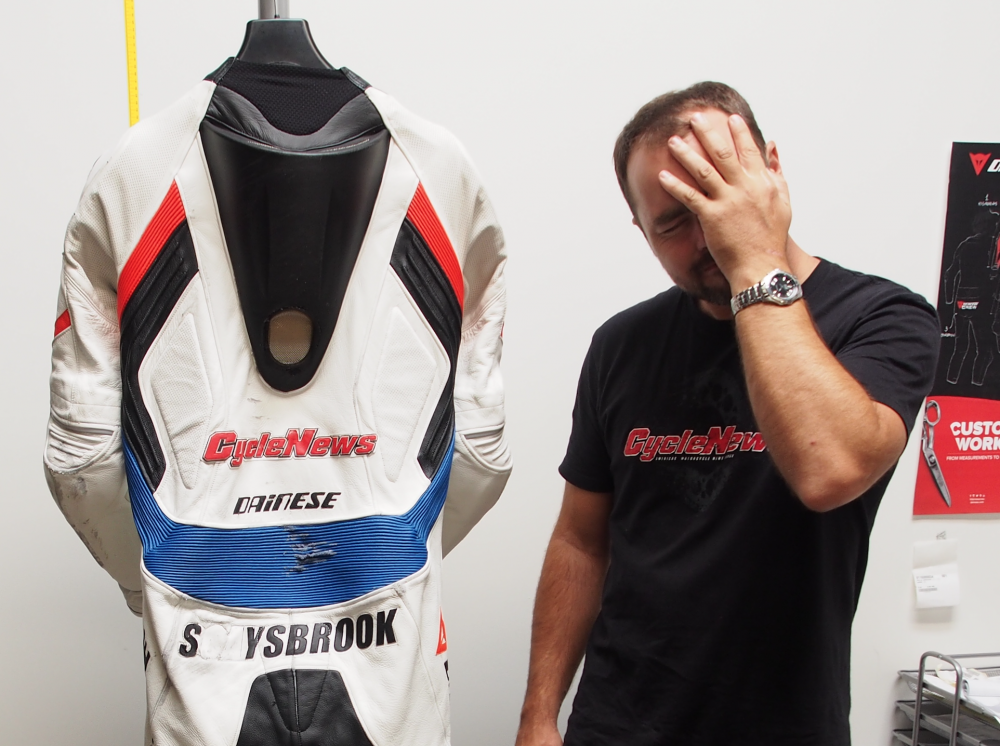 Dainese D-Store Suit Repair - Cycle News