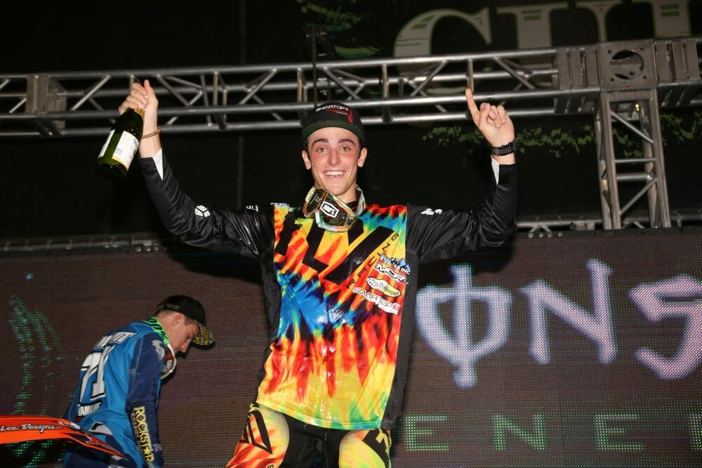 Monster Energy Cup Victory To Eli Tomac