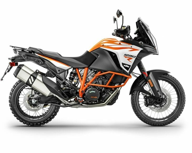 The KTM 1290 R is a great example of an Adventure Motorcycle.