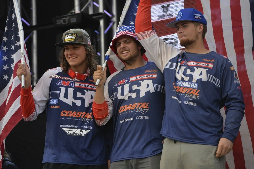 ISDE Victory - Long Time Coming For Team USA:
