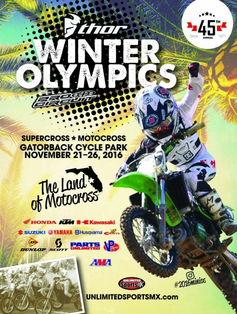 2020 Thor Winter Olympics.2016 Thor Winter Olympics Mini O S Coming Soon Cycle News