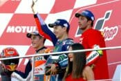 Jorge Lorenzo capped off his nine years with Yamaha with a victory at Valencia.