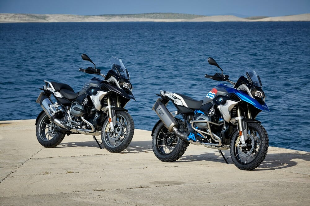 2017 Bmw R 1200 Gs And Rallye First Look Cycle News