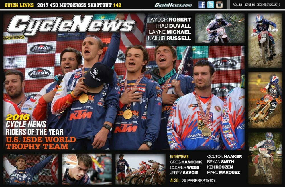 Cycle News Issue 50