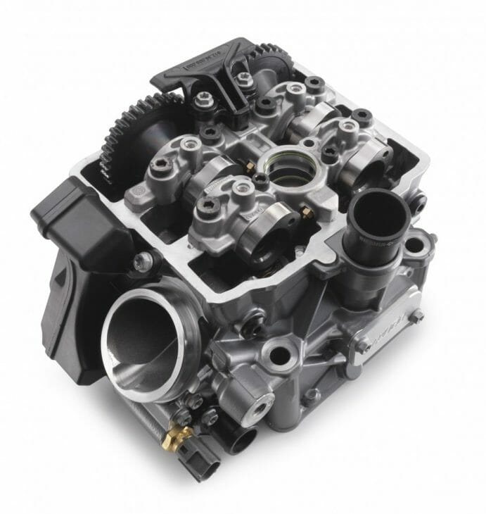 KTM cylinder head.