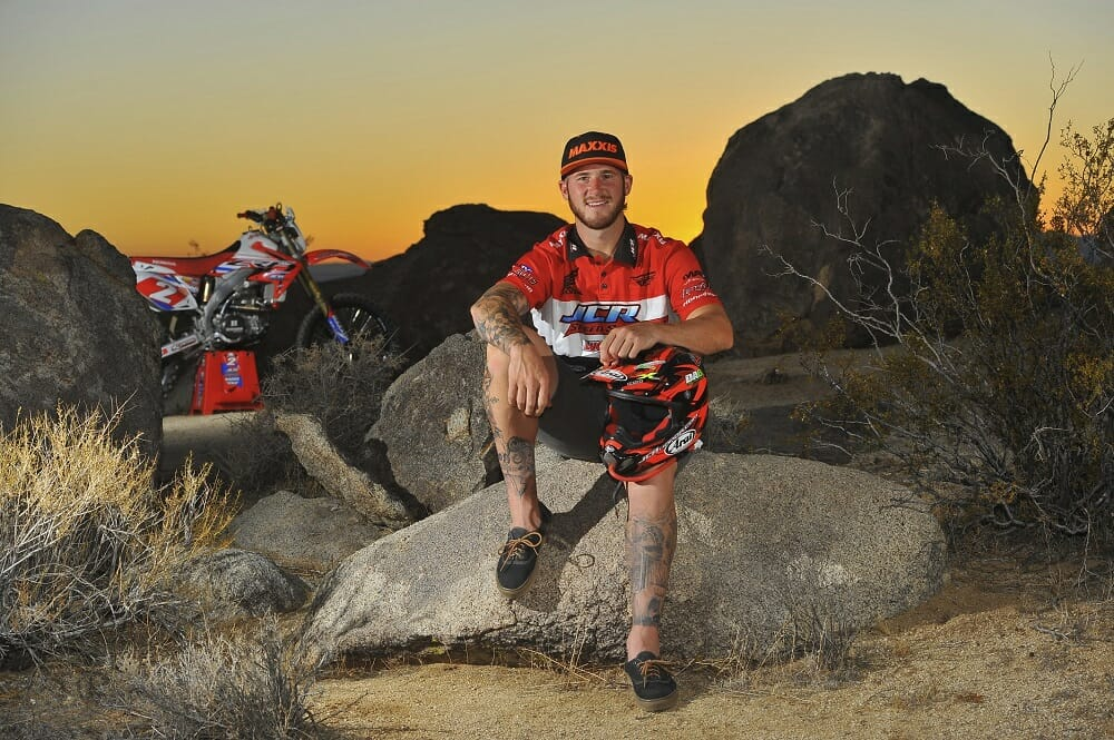 AMA Hare & Hound National Champion Ricky Brabec