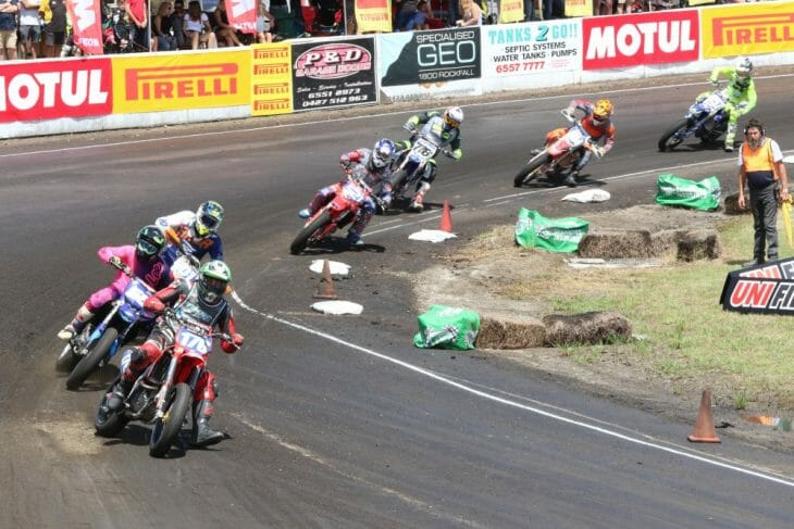 Support class action at the TBC. Troy Bayliss Classic
