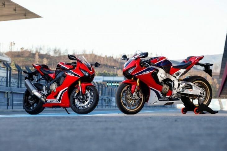 Two CBR bikes