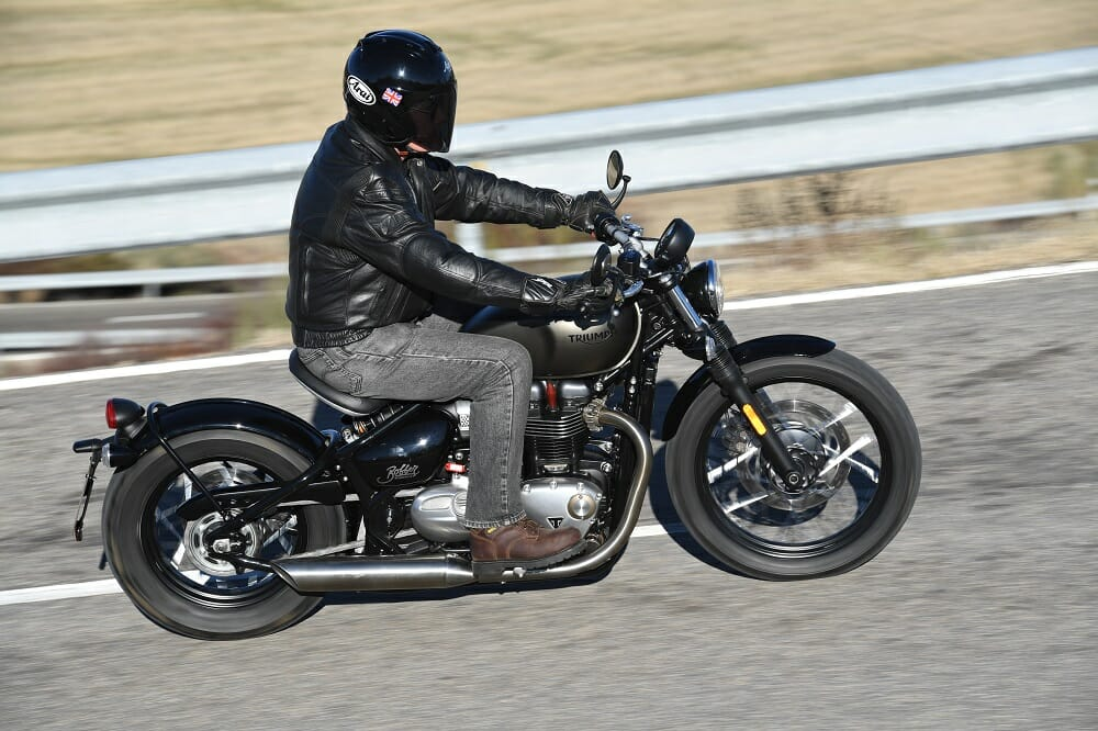 2017 Triumph Bonneville Bobber First Ride Cycle News