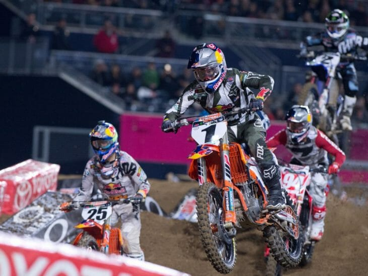 San Diego 450 Supercross Results