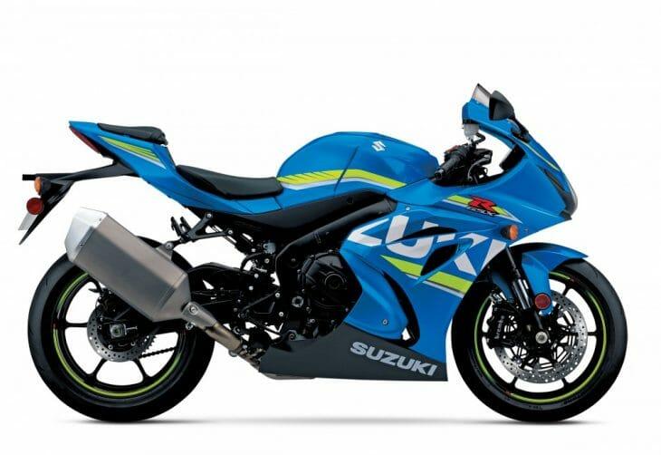 Blue GSX-R