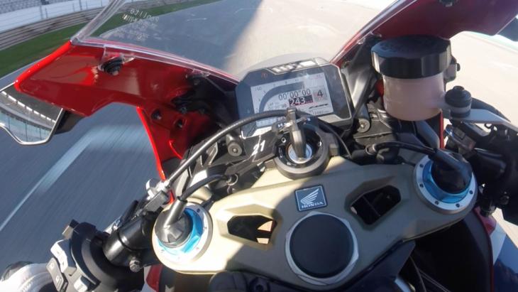 CBR dash traction