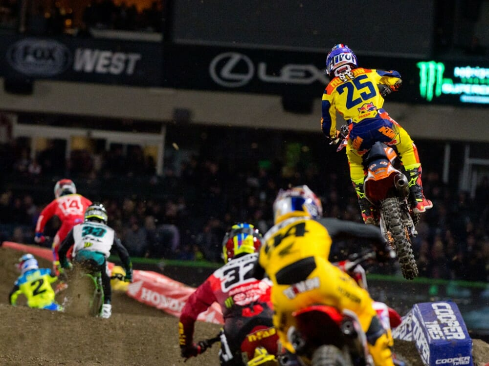 2017 Anaheim 2 Supercross Results
