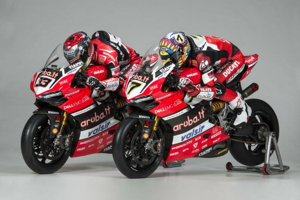 Arubait Ducati Team Unveiled Gallery Cycle News