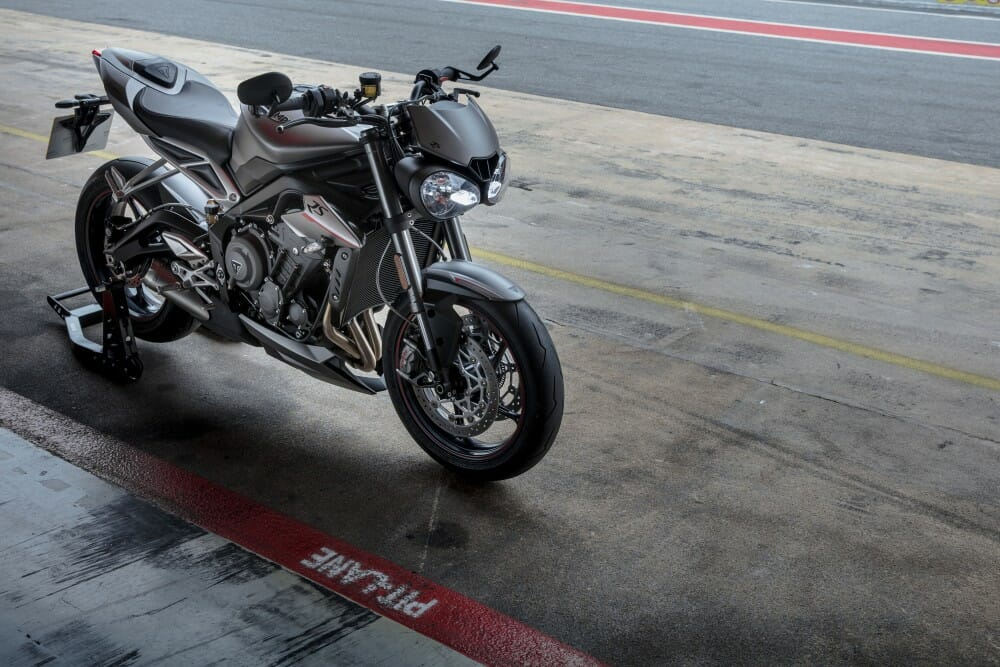 2017 Triumph Street Triple Rs First Test Cycle News