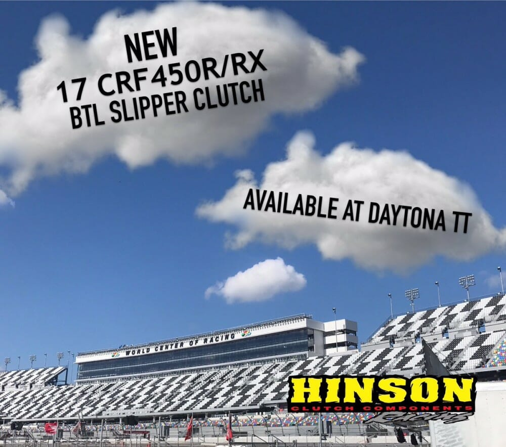 Hinson Clutch Components 2017 CRF450R/RX BTL Series Complete 8 Plate Slipper Clutch Available for sale at AFT Daytona TT!