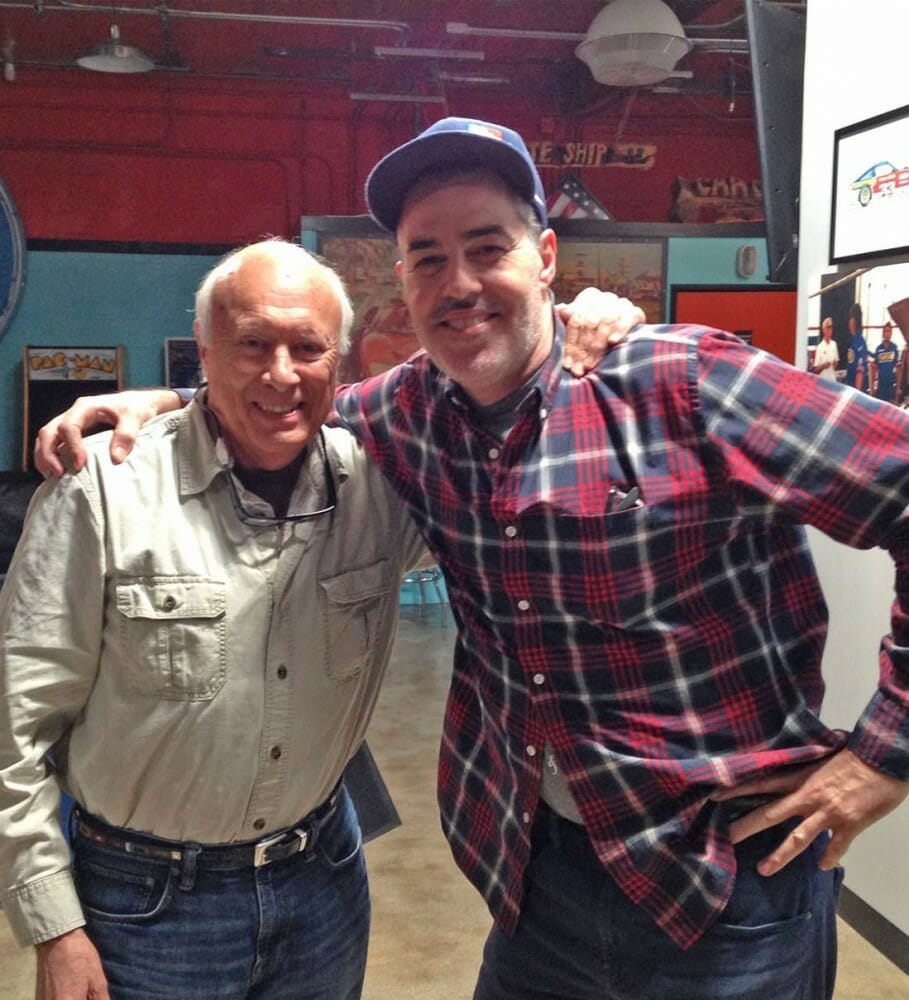 Adam Carolla Interview with Trailblazers Hall of Fame member Peter Starr