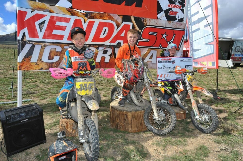 Sutherlin Tests Brabec for the Win at National Hare and Hound