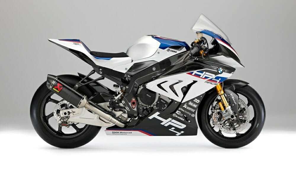 2017 BMW HP4 Race: FIRST LOOK