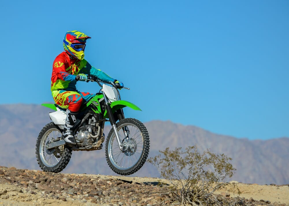 Kawasaki KLX140G vs  Honda CRF230F vs  Yamaha TTR230: SHOOTOUT