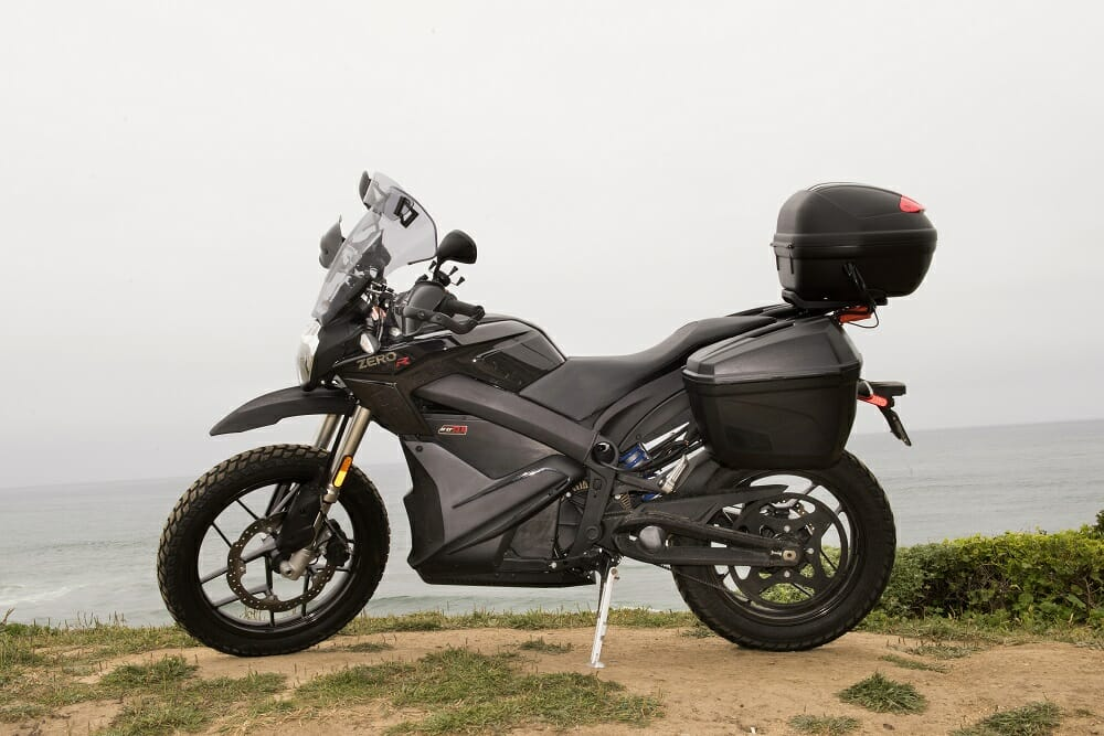 E-Touring In California on the Zero DSR