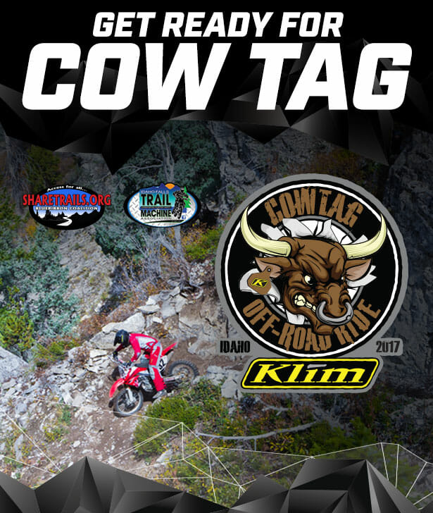 KLIM Cow Tag Off-Road Ride June 24, 2017
