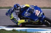 Kenny Roberts Jr. racing his way to a 500cc Grand Prix World Championship in 2000. (Photo by Henny Ray Abrams)
