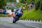 The man in his element. Michael Dunlop is a formidable proposition when it comes to road racing, and he proved it once again by taking a brand new, untested motorcycle in the 2017 Suzuki GSX-R and winning the Senior TT with it.