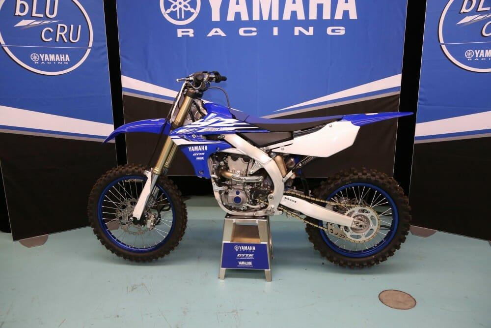 2018 Yamaha YZ450F First Look