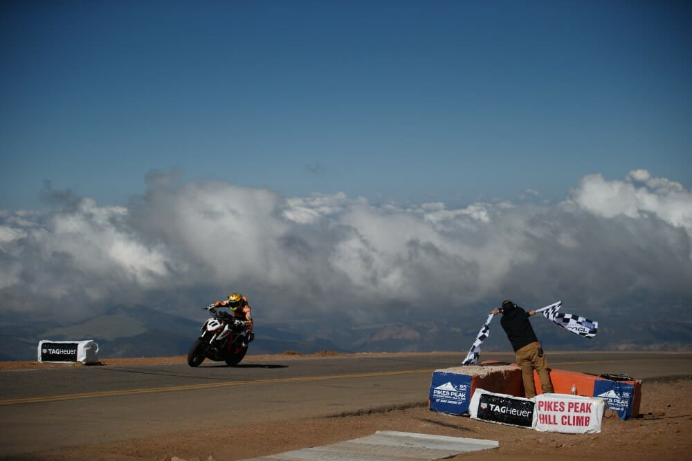 2017 Pikes Peak International Hillclimb Results