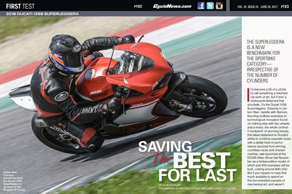 2018 Ducati 1299 Superleggera