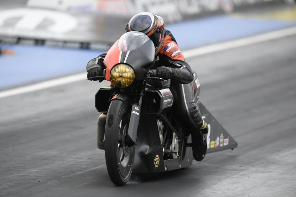 2017 Denver NHRA Pro Stock Motorcycle Results