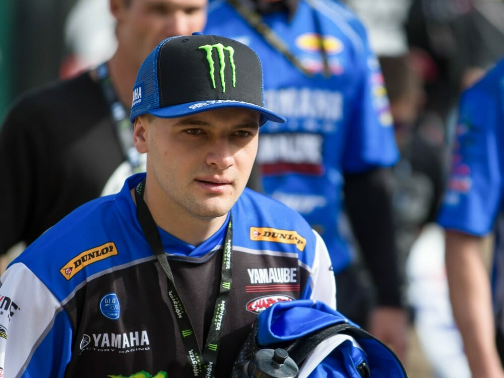 Cooper Webb Out For Monster Energy Cup