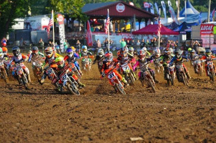 2017 Loretta Lynn's Motocross Day Two Results