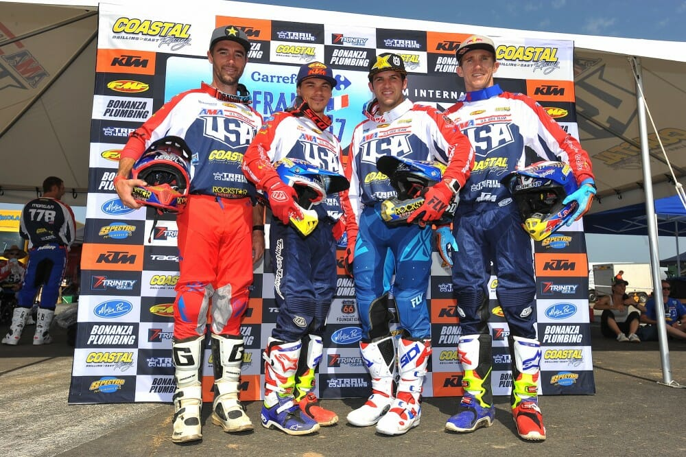 2017 U.S. ISDE Team Ready To Get Started In France