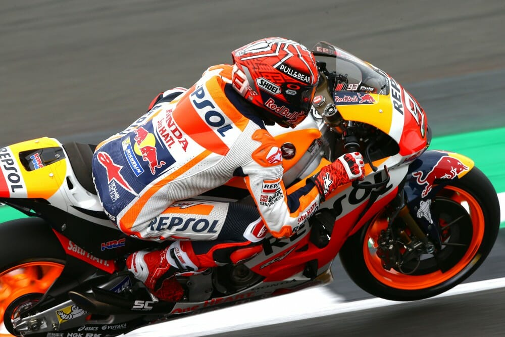 2017 Motogp Qualifying Results From Silverstone Cycle News