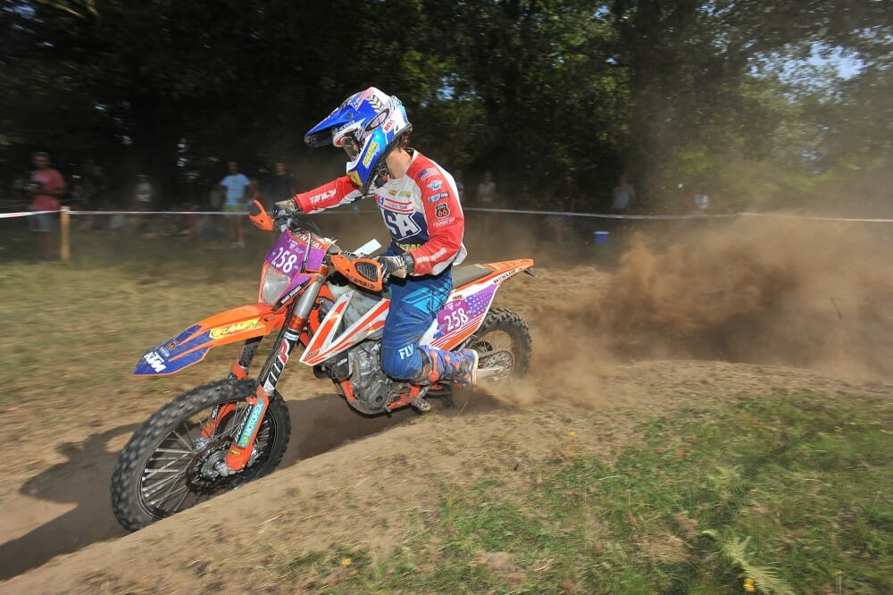 2017 ISDE France Day Two Results