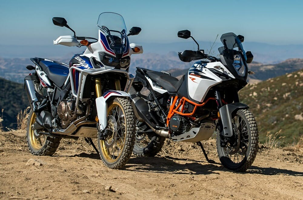 KTM 1090 Adventure R vs. Honda Africa Twin: SHOOTOUT ...