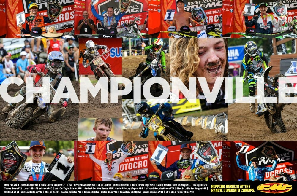 FMF Racing VIDEO: Sweatville Loretta Lynn 2017