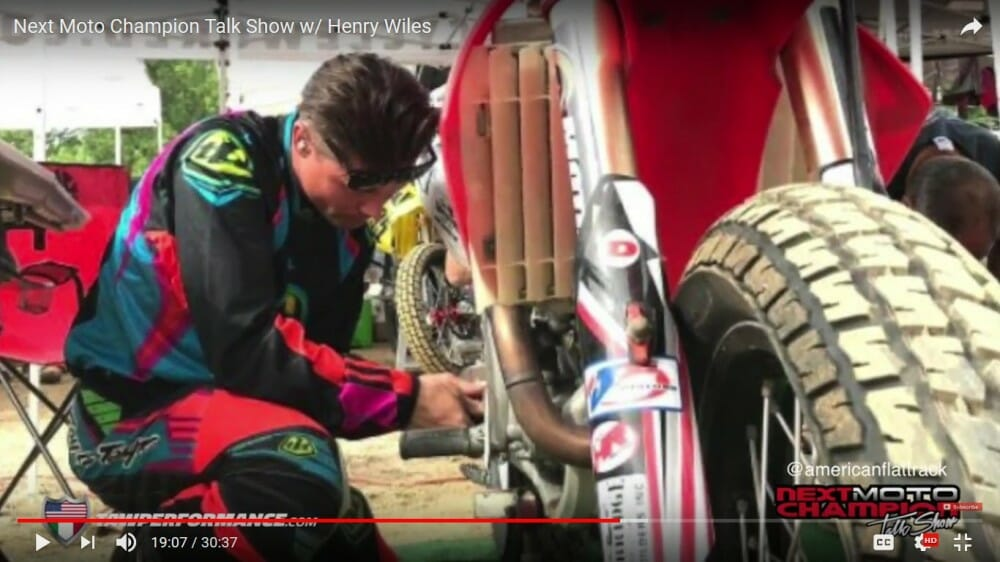 Next Moto Champion Talk Show With Henry Wiles